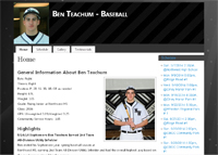 Ben Teachum Baseball